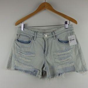 3d8b2487b45d Blank NYC Shorts - BLANK NYC womens tomboy denim distressed shorts
